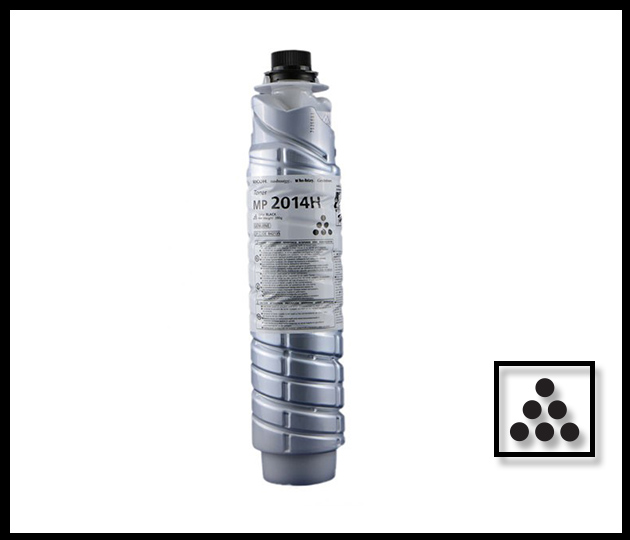 RICOH MP2014H BLACK TONER BOTTLE
