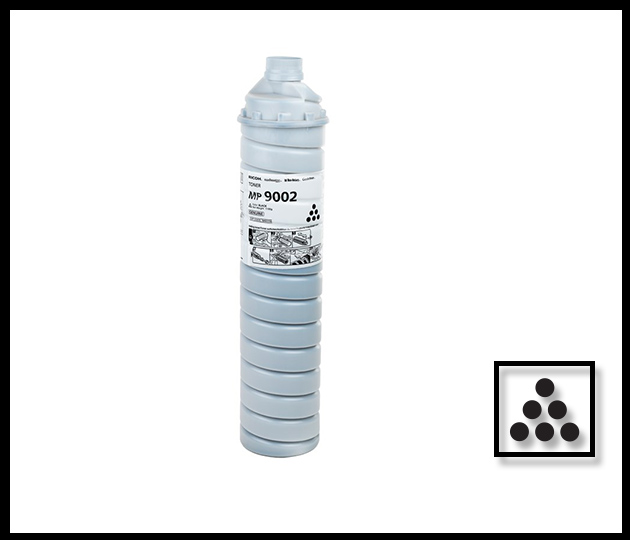 RICOH MP9002 BLACK TONER BOTTLE