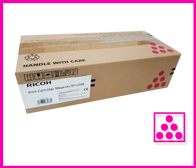 RICOH SP C250E COLOUR TONERS